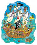 """Pirate Ship - Piratenschiff"" (Orchard Toys - Floor Puzzle) - 100 Teile"