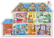 "Orchard Toys ""Dolls House - Puppenhaus"" (Floor Puzzle)"