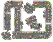 "Orchard Toys ""Giant Road Jigsaw"""