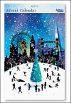 "Nostalgischer Adventskalender ""Glitzerndes London"" Caltime"