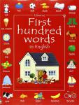 First 100 Hundred Words Book - Usborne (PB)