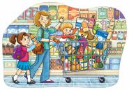 Shopping Trolley (Floor Puzzle - Orchard Toys)