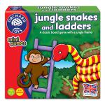 """Jungle Snakes & Ladders"" (Orchard Toys minis) - Puzzle"