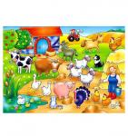 Who's on the Farm Puzzle (Orchard Toys)