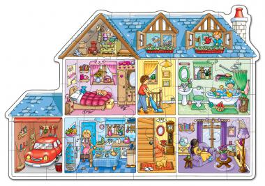 """Orchard Toys """"Dolls House - Puppenhaus"""" (Floor Puzzle)"""