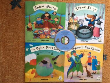 Child's Play Fairy Tales Set 2 - 4 Books