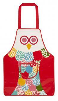 """""""Kinderschürze (PVC) Owl"""" von Ulster Weavers zum Kochen und Basteln"""