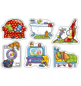 """In my House"" (Orchard Toys) - Puzzle"