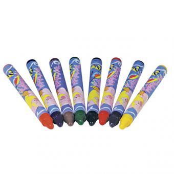Textilstifte (Goki) aus Wachs Stoffmalstifte