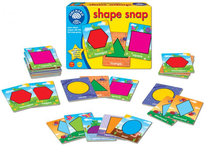 """Orchard Toys """"Shape Snap"""""""