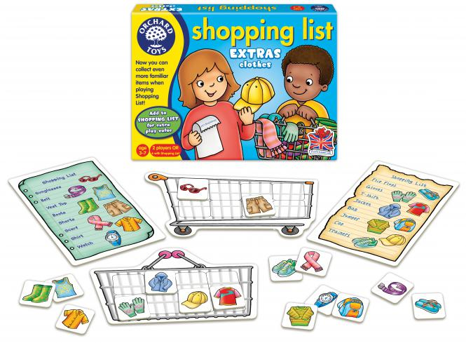 "Orchard Toys ""Shopping List - Clothes"""""