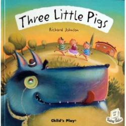 The Three Little Pigs (Child's Play - lift-the-flaps - PB)