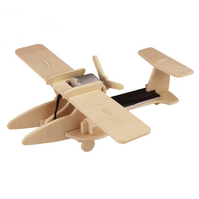 """""""Holzbausatz Solar Sport-Flugzeug"""" Pebaro"""