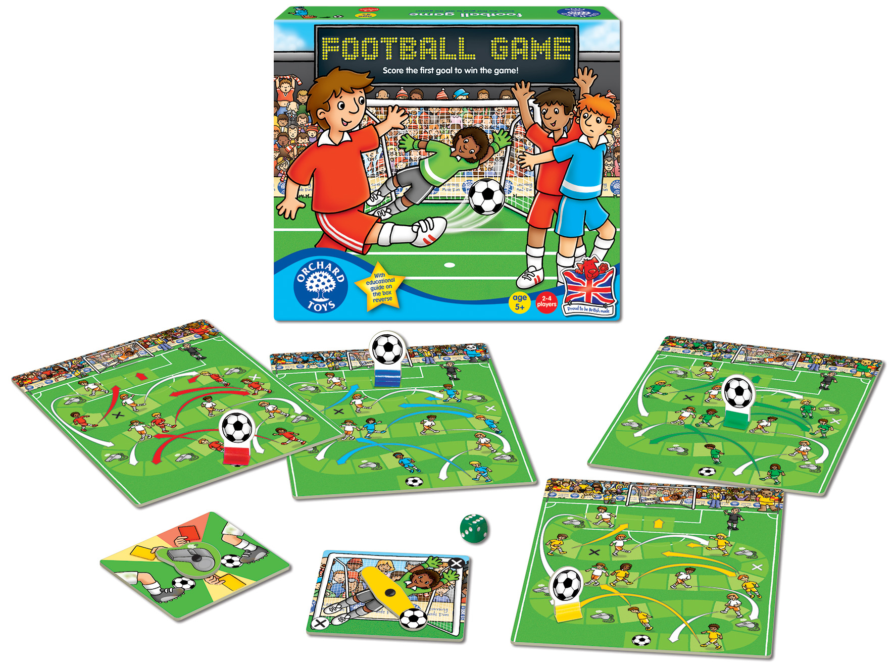 "KIDZMEDIA shop Orchard Toys ""Football Game"" Fußball"